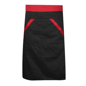 Adapula menerobos Apron dengan juru masak pelayan dapur masak hitam - International