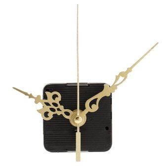 Harga 2Pcs Quartz Wall Clock Movement Mechanism DIY Repair Parts Kit Long Shaft - intl
