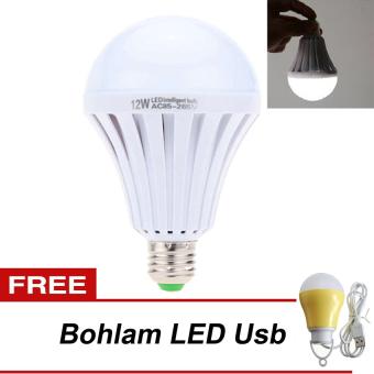 LED Autolamps Bohlam Emergency 9Watt + LED Bohlam Lampu USB 5 Watt - Kuning