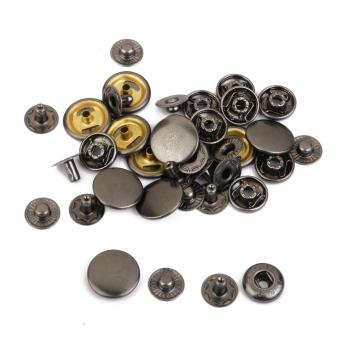 BolehDeals 10 sets Copper Snaps Fasteners Gun Black Color