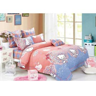 Alona Ellenov Hello Ribbon Bed Cover Set – Multicolour