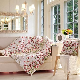 Multifunctional pillow cushion and pillow quilt 2 in 1