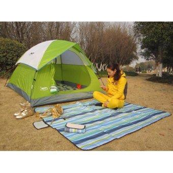 Tikar Plastik Lipat Waterproof Karpet Piknik Kemping Tamasya Bermain Rekreasi Arisan Pengajian Umroh Haji A13.