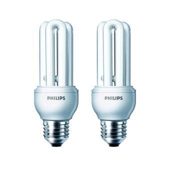Philips Lampu Genie 14 W WW E27 220-340V (2 Pcs)