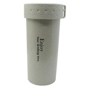 Botol Minum Enjoy Your Drinking BPA Free Unbreakable Bottle - 350ml