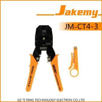 Jakemy Crimper Plier LAN Network Cable RJ45 / RJ-11- JM-CT4-3