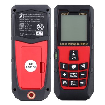 100m Digital Laser Distance Meter Handheld Laser Range FinderMeasure Distance Area Volume Self-calibration Level BubbleElectronic Ruler High Precision - intl