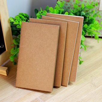 Harga Kraft Cover Weekly Plan Notebook Paper Memo Diary Work-book Office Stationery 258*