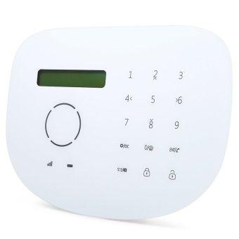 GS S2G Wireless Alarm System GSM Home Security Sensor Detector (EUPLUG) (White) - intl