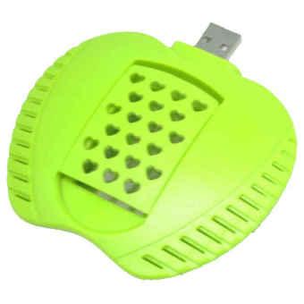 Universal Apple USB LED Mosquito Killer Lamp Pembunuh Nyamuk - Green