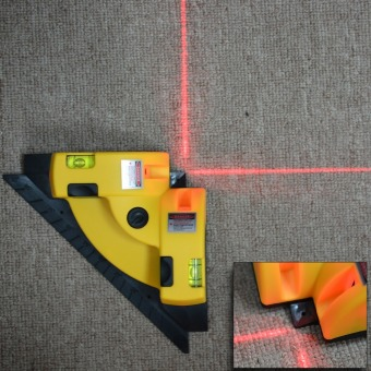 Harga Vertical Pro Vertical Horizontal nivel laser level Line Projection Square Right Angle 90 degree HT091
