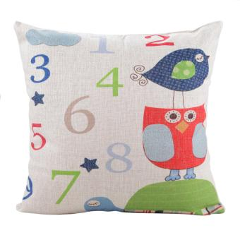 Ovonni Cute Numbers 18 inch Pillow