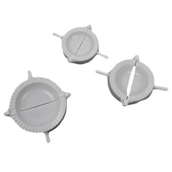 HengSong Dumpling Machine Pelmeni Mould Maker (White)