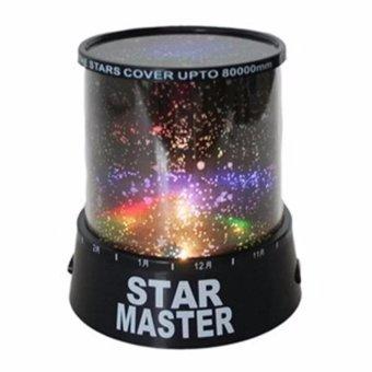 Universal - Star Master Lampu hias kamar tidur proyektor bulan bintang