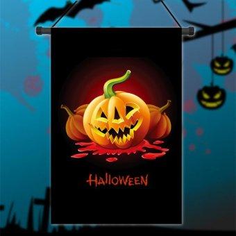 Bendera taman primitif Jack labu ' lentera malam Halloween 30,48 cm x 45,72 cm bendera - Internasional