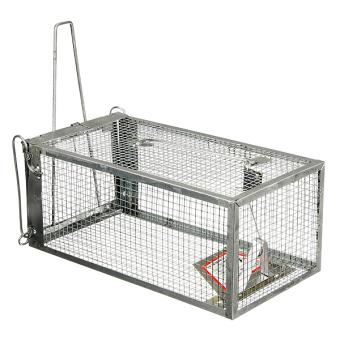 Reusable Hamster Cage Mice Rat Control Catch Bait Live Trap Rodent Animal Mouse - intl