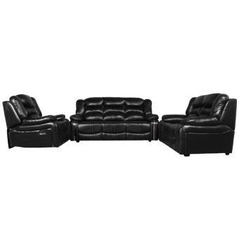 Harga Wellington's Sofa Set Starlucky 321RC - Virotek Black