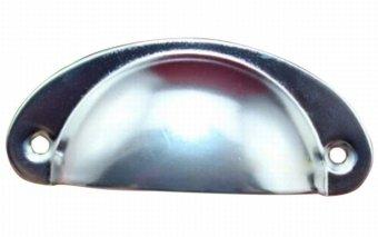 10PCS Retro Shell Shape Metal Drawer Cabinet Handle Furniture Knob Handware Product Nickel