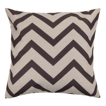 Fashion Vintage Cotton Cushion Cover Pillow Case Gray