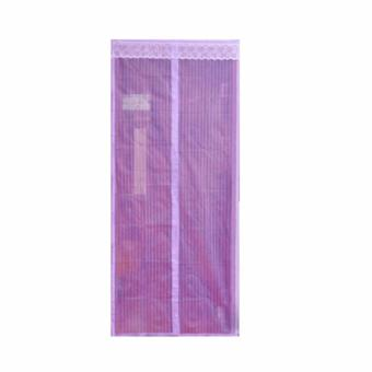 Harga Aimons Magic Mesh Tirai Pintu Magnet Kelambu Anti Nyamuk - Ungu