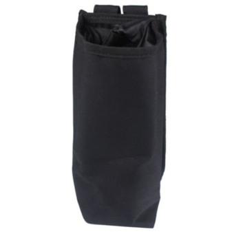 Outdoor Sport Tactical Gear Military Water Bottle Bag Kettle Heat Preservation Pot Pouch Black