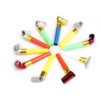 HKS Funny Blowouts Party Birthday Blow Outs Noisemakers Colors Favours