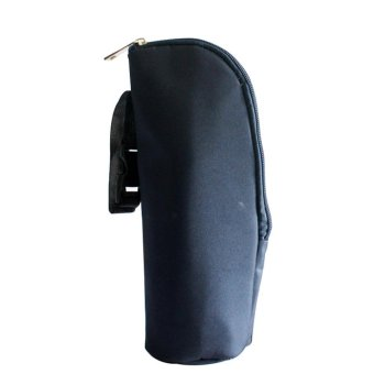sqamin Baby Feeding Bottle Thermal Bag Keep Warm / Cold Cover With Hanging Strap,Dark Blue - intl