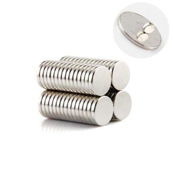 Harga 100 buah 5 x 1 mm magnet kulkas kecil kuat langka Bumi N35 kulkas Gadget