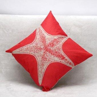 Pillow Case Sofa Waist Throw Cushion Cover Home Décor - intl