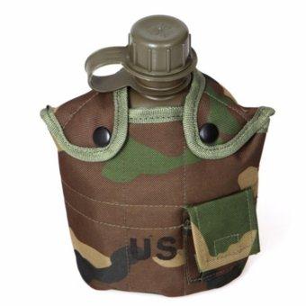 Botol Minum Plastik Desain Army - Camouflage