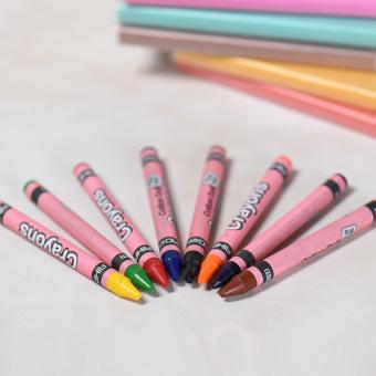... 54pcspensil Warna Crayon Set Alat Tulis Warna Daftar Update Source Harga 8warnd aman bebas racun dicuci