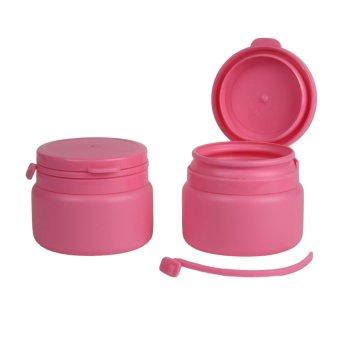 20PCS/LOT 120ml Hdpe Plastic Bottle, Bottles for Medicine 120ml Pink - intl