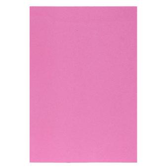 10 buah EVA busa lembar A4 kertas buatan tangan menyenangkan Funky anak kerajinan hadiah 290 x 200 x 2 mm berwarna merah muda - Internasional