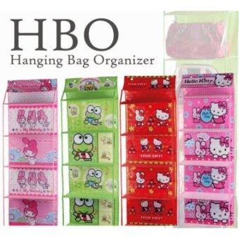 Harga Rak Sepatu Gantung Full Resleting Karakter - Hanging Shoes Organizer (HSO) Hanger Sepatu