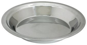 Lindy's 5M871 23cm Stainless Steel Pie Pan