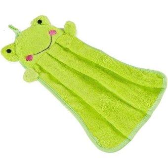 Harga Retail Station - Lap Handuk Tangan Karakter Motif Hand Towel - Kodok