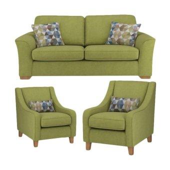 Allison Everland 211 Seater Sofa - Green