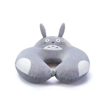 Function Neck Pillow U Type Neck Slow Rebound Memory Pillow Travel Nap Health Care Cervical Cushions Soft Nursing (Gray) - intl
