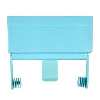 Magnetic Rak Dapur Rak Penyimpanan Botol Biru