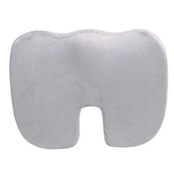 ComfiLife tulang sulbi ortopedi memori busa kursi kantor dan bantal kursi mobil untuk nyeri punggung dan