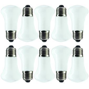 Philips Lampu Ruangan Superflux 25W E27 220-240V E50 W-W (10 pcs)