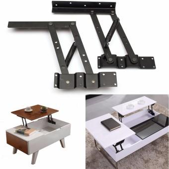 Harga 2Pcs Lift Up Top Coffee Table Lifting Frame Mechanism Spring Hinge Hardware - intl