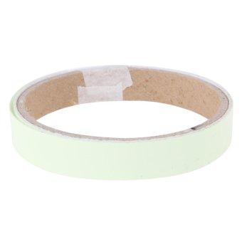 15MM 1M Luminous Tape Self-adhesive Tape Night Vision - intl