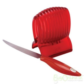 Universal Jia Long Tomato Slicer with Knife - Pemotong Tomat - Merah