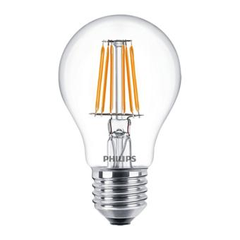 Philips Classic LED Bulb 7,5W-60W A60 (Warm White / Kuning)