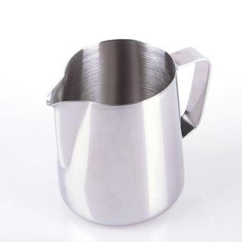 Harga XIYOYO 350Ml Expresso Stainless Steel Kitchen Home Craft Coffee Frothing Milk Latte Jug - intl