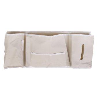 Room Bedside Hanging 5 Pockets Storage Bag Organizer Holder Shelf