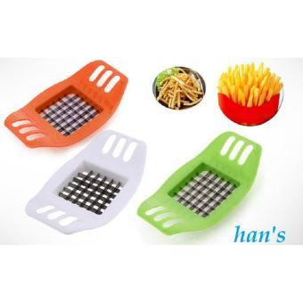 Harga 3 PCS Potato Cutter Slicer Chopper French Fries pemotong pisau kentang yang .
