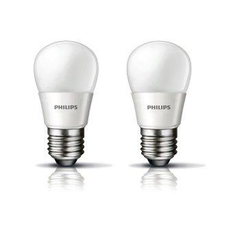 Philips Lampu Bohlam LED Bulb - 3W - 2 Pcs - Putih