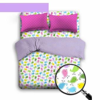 Alona Ellenov Little Bird Pink Bed Cover Set – Pink